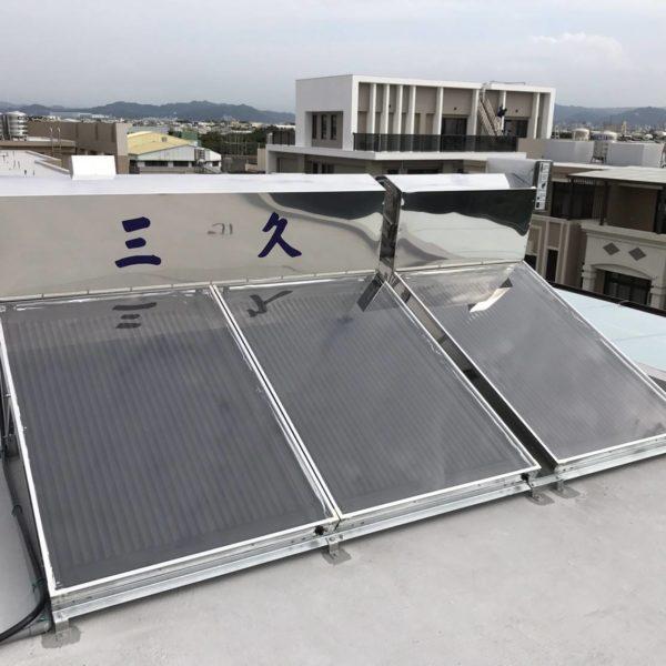 安裝實例 台中神岡 TOP-406H 三久太陽能熱水器